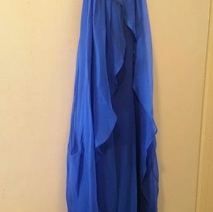 Cobalt blue  short dress , size Small